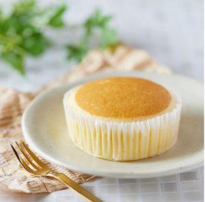 コンビニスイーツ・ローソン チーズリッチ蒸しケーキ