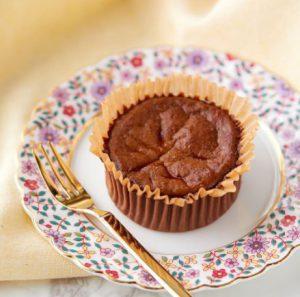 コンビニスイーツ・ローソン バスチー -バスク風ショコラチーズケーキ-